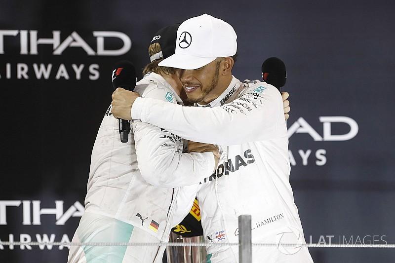 Hamilton és Rosberg barátok lehetnének, de valahogy mégsem