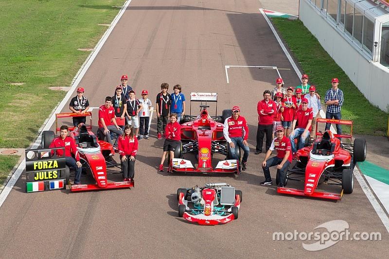 GALERI: Daftar pembalap Ferrari Driver Academy