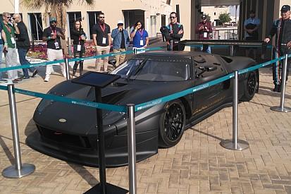 """الكشف عن سيارة """"ون أوف ون"""" الرياضية المتألقة على هامش سباق الخليج 12 ساعة في أبوظبي"""