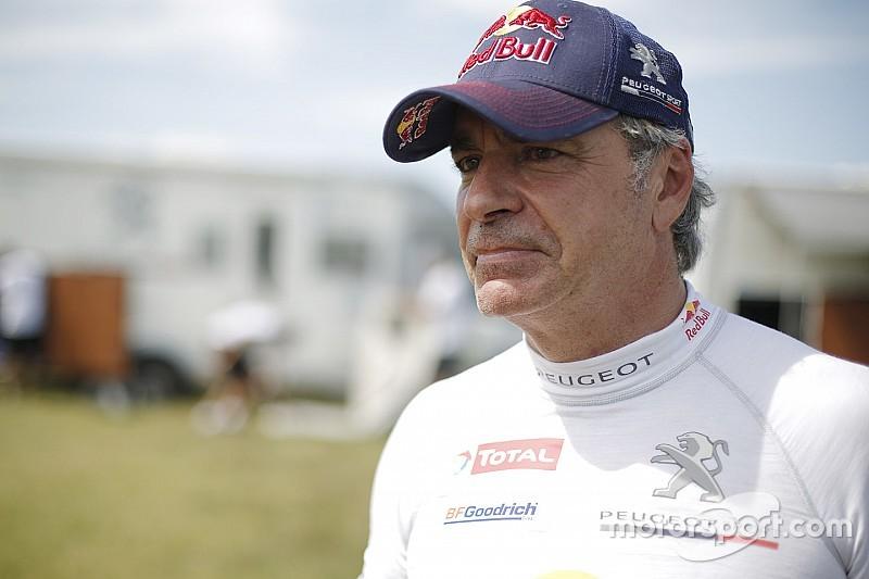 """Pour Sainz, le but du Dakar 2018 sera de """"finir, et essayer de gagner"""""""
