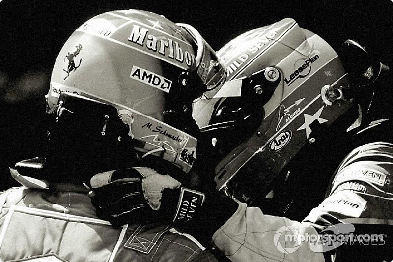 """Alonso: """"Schumacher sangat cepat dan terkadang menakutkan"""""""