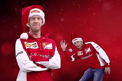 Así felicita la Navidad la Fórmula 1