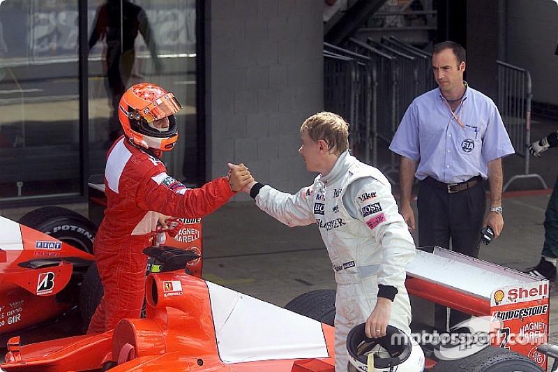 Hakkinen: Senna en iyilerdendi ancak benim için bir numara Schumacher