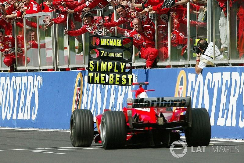 In beeld: De 50 mooiste foto's van Michael Schumacher