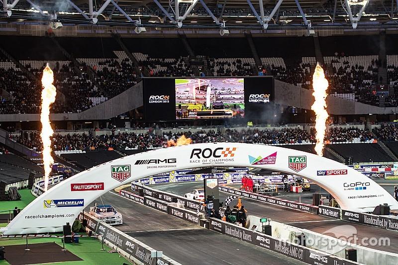 Juan Pablo Montoya y Memo Rojas a la Race of Champions
