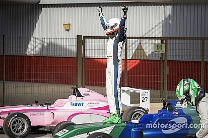 فورمولا 4 الإماراتية: ليون كوهلر يحرز الفوز في السباق الأول للجولة الثالثة من مشاركته الأولى