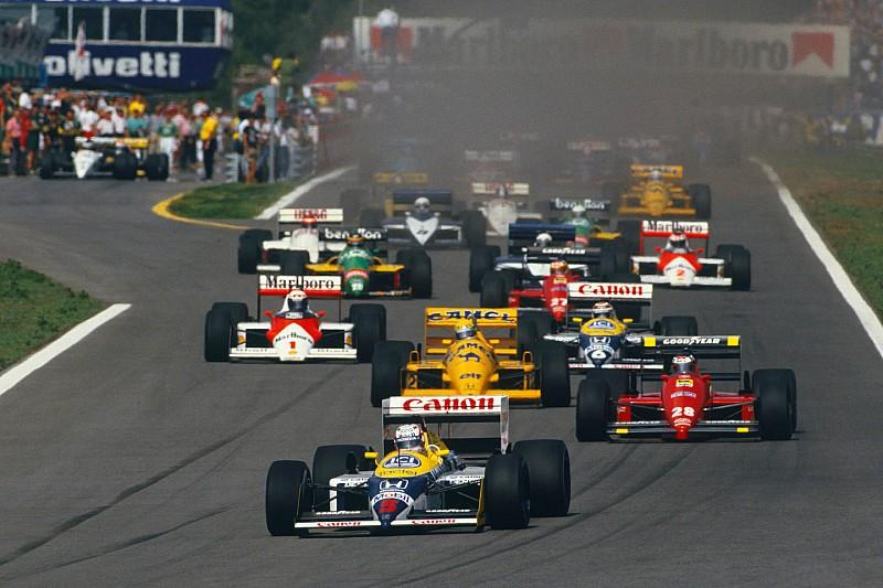 """現代F1はバトルに""""深み""""が足りない!? マンセルが参戦台数増加を提言"""