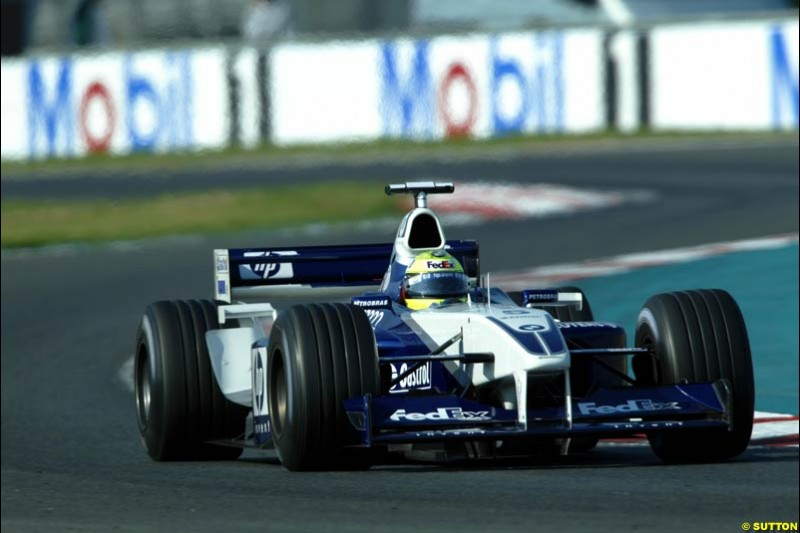Ralf Schumacher, Williams, Qualifying, French Grand Prix, Magny Course, France, July 20th 2002.