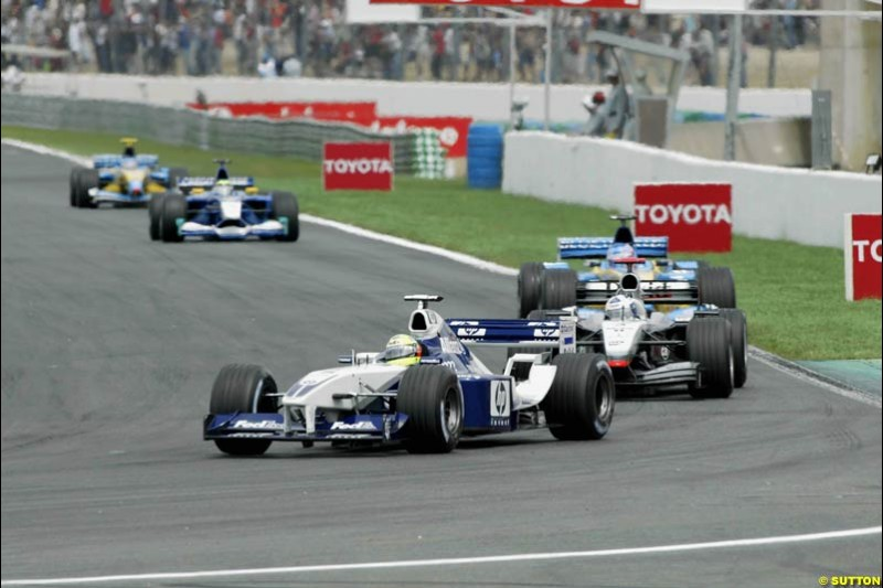 French Grand Prix, Magny Cours, France, July 21st 2002.