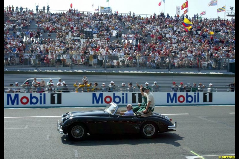 Sunday Morning, French GP, Magny Cours, France, July 21st 2002.