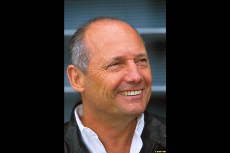 Ron Dennis, McLaren Team Boss. Belgian Grand Prix, Spa-Francorchamps, Belgium, September 1st 2002.