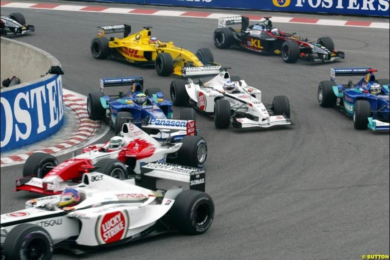 Belgian Grand Prix, Spa-Francorchamps, Belgium, September 1st 2002.