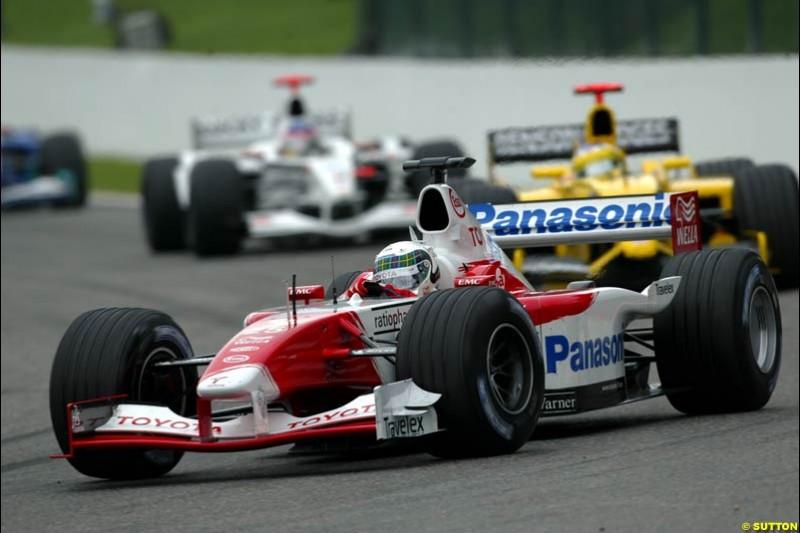 The Midfield. Belgian Grand Prix, Spa-Francorchamps, Belgium, September 1st 2002.