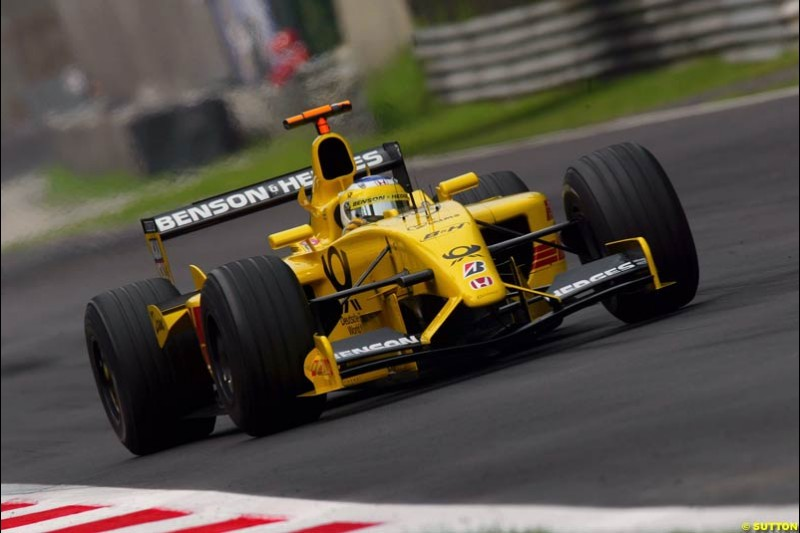 Friday Free Practice. Italian Grand Prix, Monza, Italy. September 13th 2002.