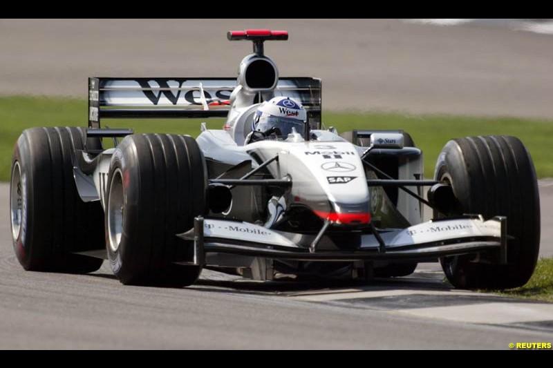 2002 United States GP, Indianapolis Motor Speedway, Sunday, September 29th 2002.
