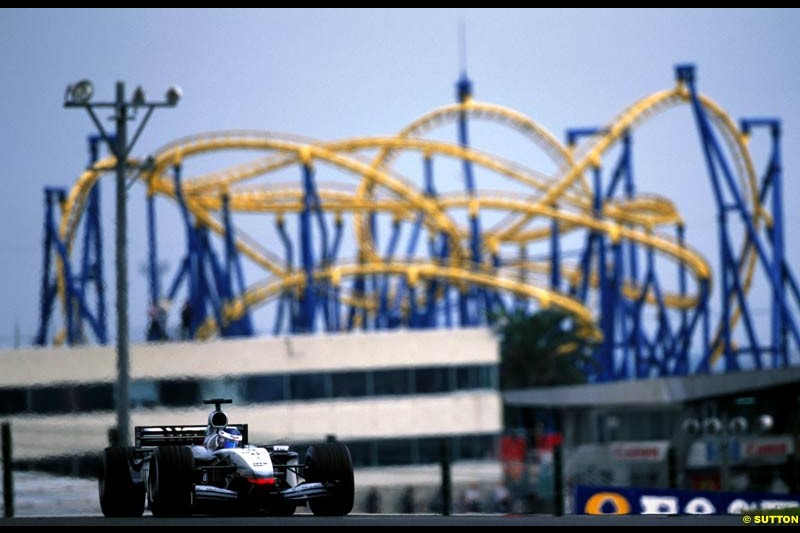 Kimi Raikkonen, McLaren, during the Japanse Grand Prix, Round 17.