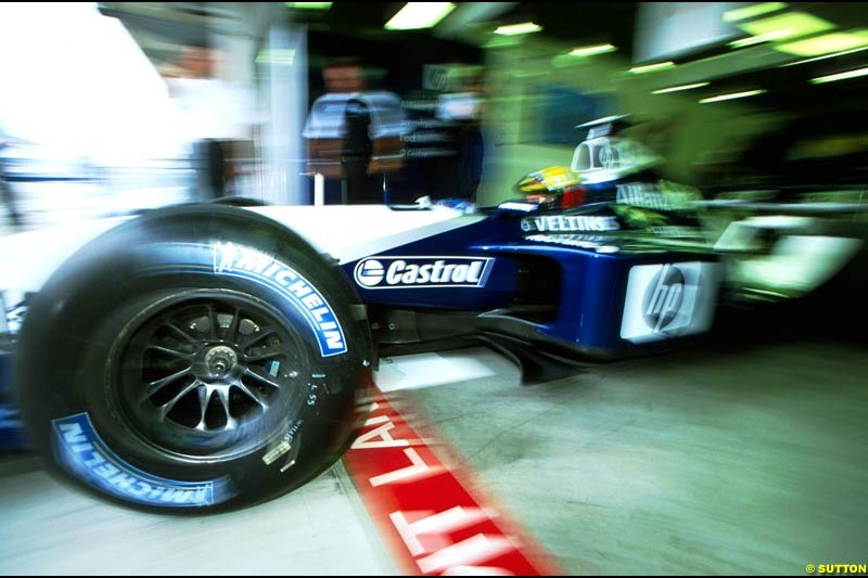 Ralf Schumacher, Williams. US Grand Prix, Round 16.