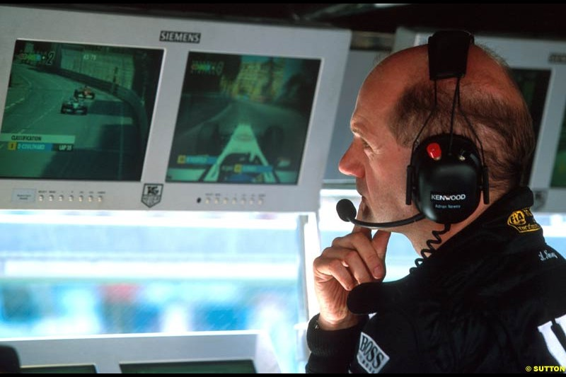 Adrian Newey, McLaren, during the Monaco Grand Prix, Round 7.