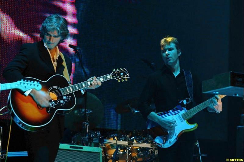 The V10 band. The annual Grand Prix Ball. Birmingham, England. January 11th 2003.