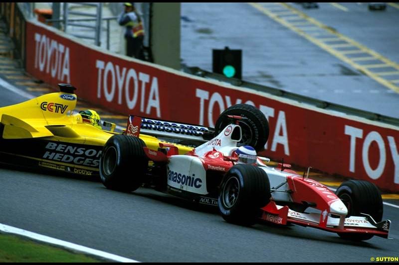 Brazilian Grand Prix. Interlagos, Sao Paulo, April 6th 2003.