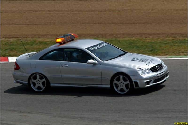 The Safety Car. Spanish Grand Prix. Circuit de Catalunya, Barcelona, Spain. May 4th 2003.