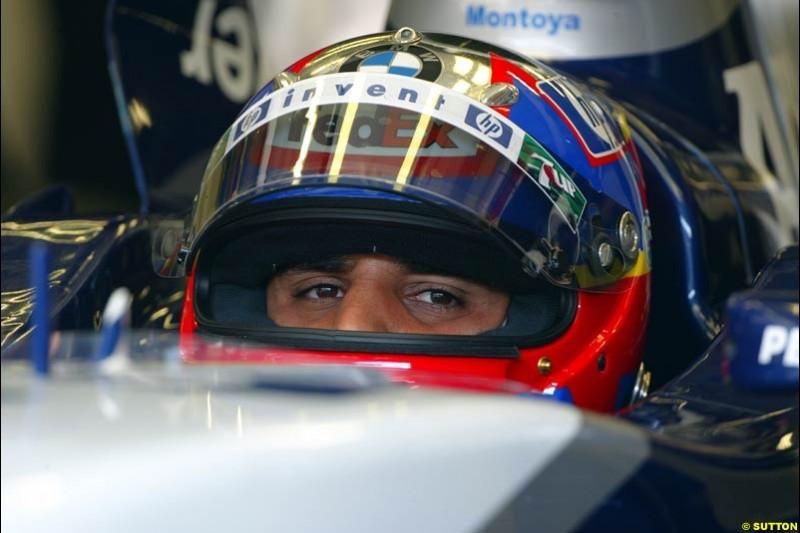 Juan Pablo Montoya, Williams. Austrian Grand Prix. A1-Ring, Spielberg, Austria. May 17th 2003.