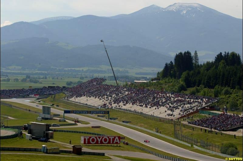Austrian Grand Prix. A1-Ring, Spielberg, Austria. May 17th 2003.