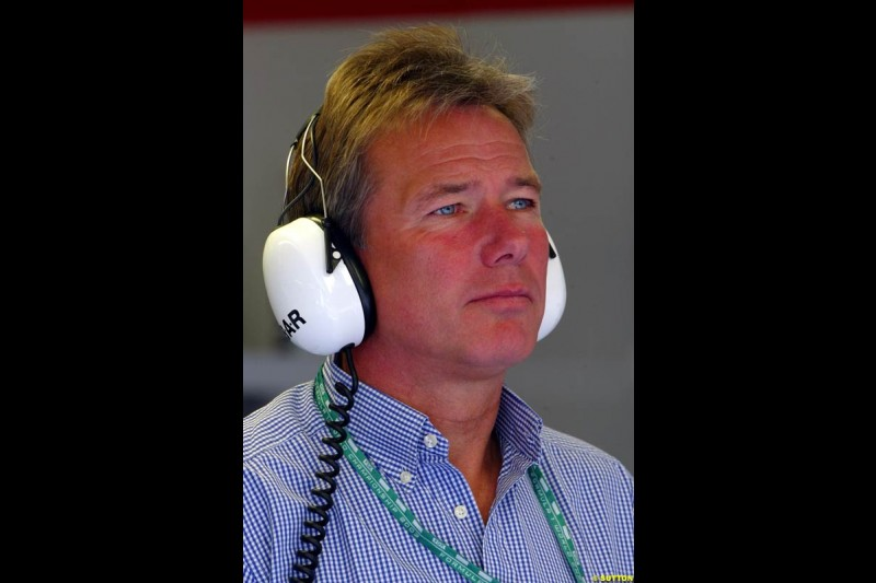 Craig Pollock, Manager for Jacques Villeneuve, at the A1-Ring, Spielberg, Austria. May 17th 2003.