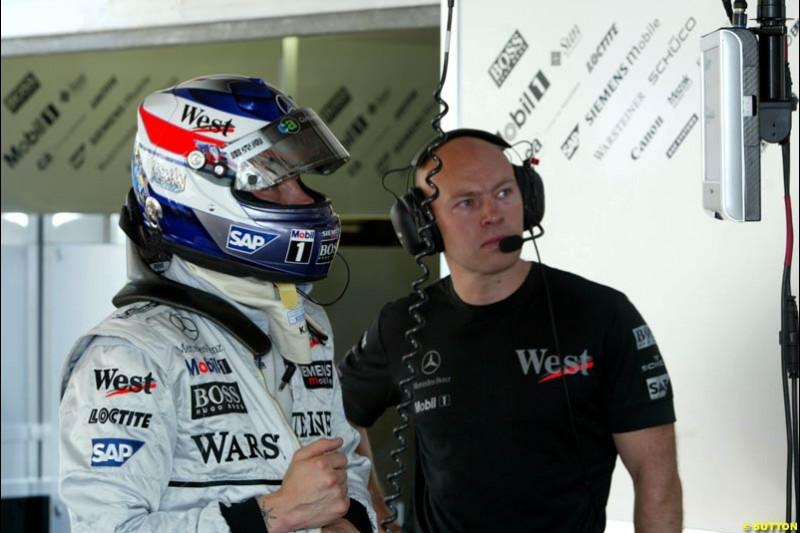 Kimi Raikkonen, McLaren. Thursday, Monaco Grand Prix. Monte Carlo, May 29th 2003.