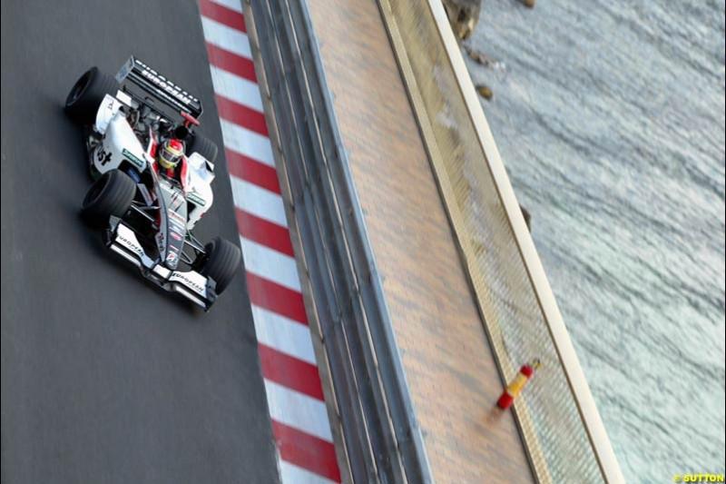 Thursday, Monaco Grand Prix. Monte Carlo, May 29th 2003.