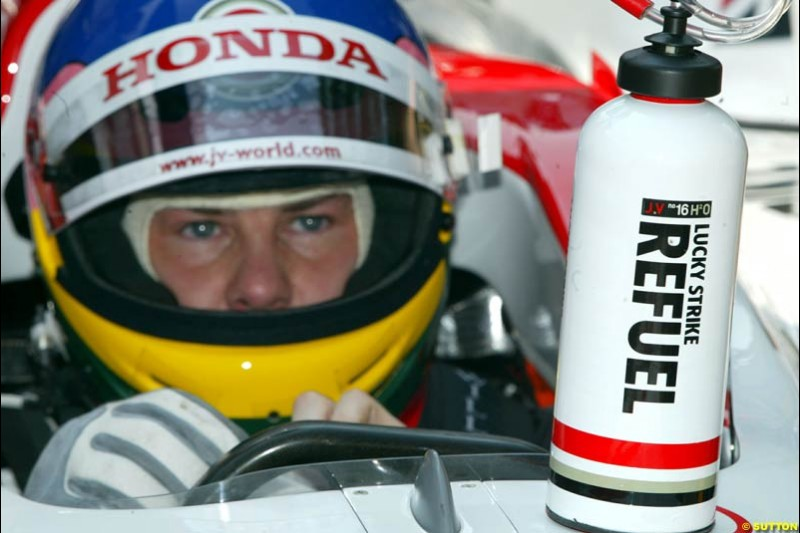 Jacques Villeneuve, BAR. Thursday, Monaco Grand Prix. Monte Carlo, May 29th 2003.