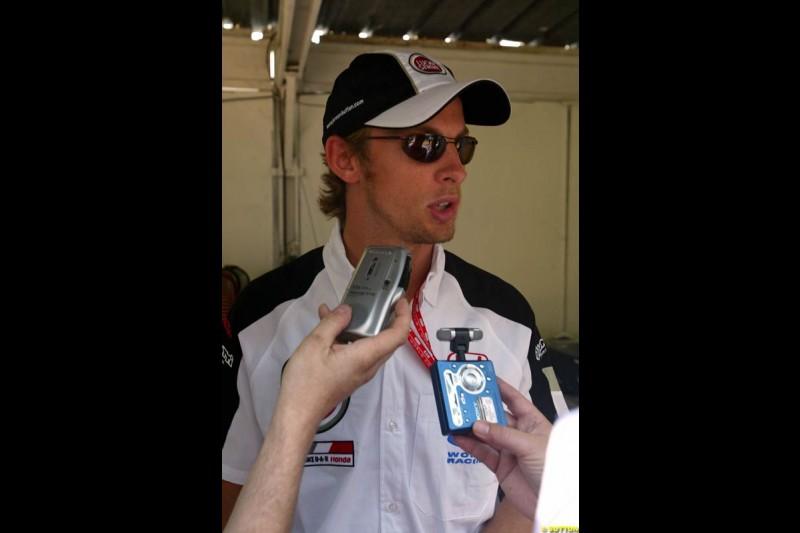 Jenson Button. Monaco Grand Prix, Sunday, June 1st 2003.