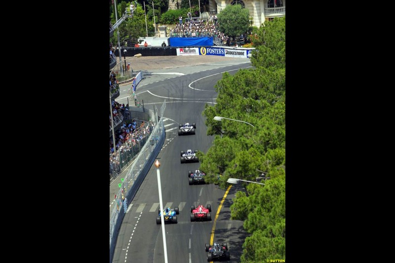 The top 3. Monaco Grand Prix, Sunday, June 1st 2003.