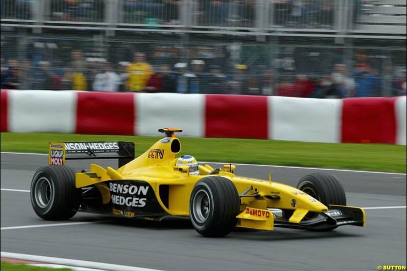 Qualifying. Canadian Grand Prix, Montreal, Saturday, June 14th 2003.