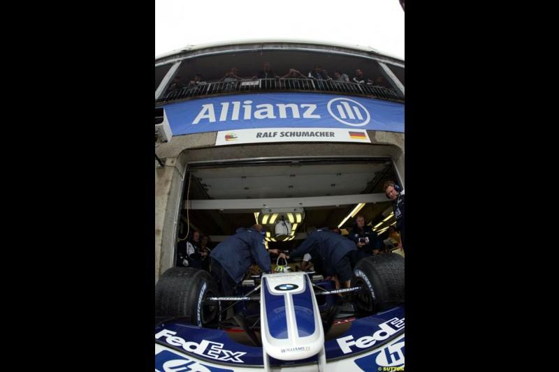 Williams BMW. Canadian Grand Prix, Montreal, Saturday, June 14th 2003.