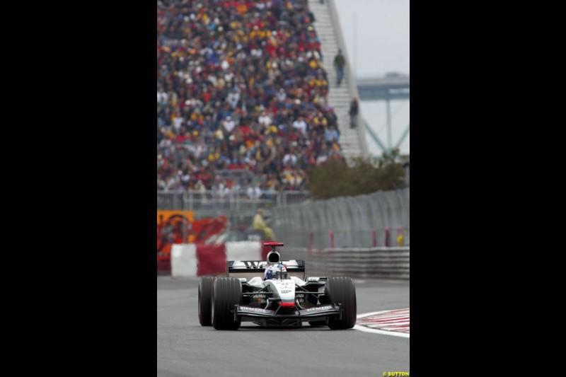 Canadian Grand Prix, Montreal, Saturday, June 14th 2003.