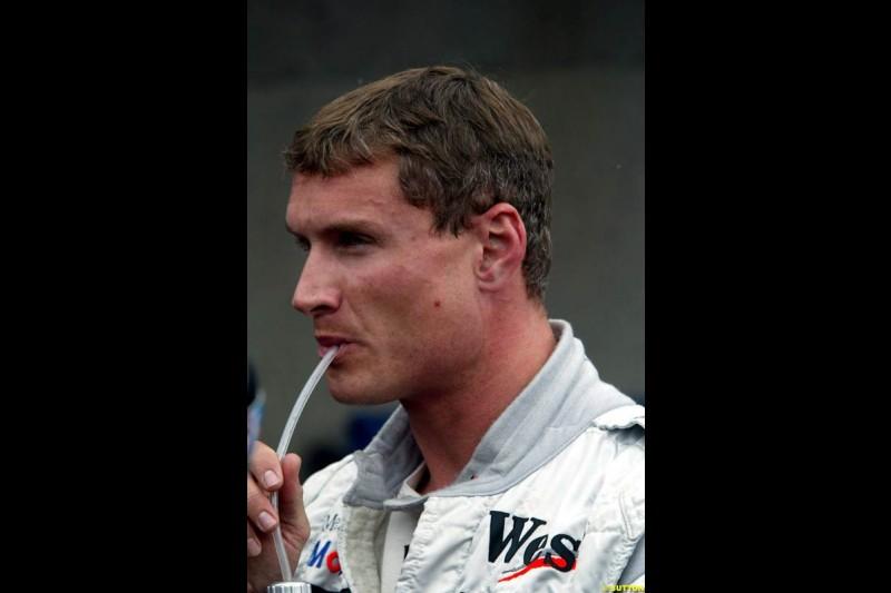 David Coulthard, McLaren. Canadian Grand Prix, Montreal, Saturday, June 14th 2003.