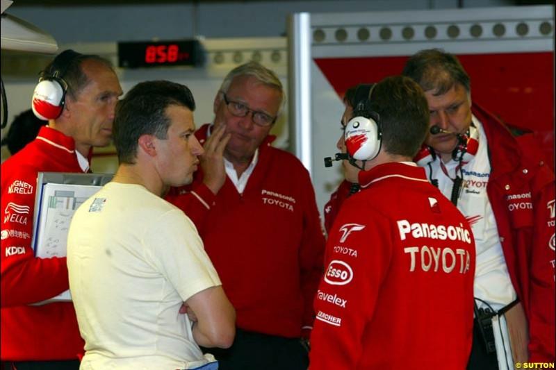 Totoya, during Saturday Free Practice. Canadian Grand Prix, Montreal, Saturday, June 14th 2003.