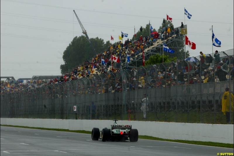 Saturday Free Practice. Canadian Grand Prix, Montreal, Saturday, June 14th 2003.