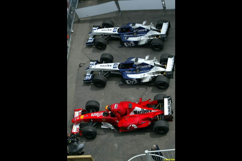 Canadian Grand Prix, Montreal, Sunday, June 15th 2003.