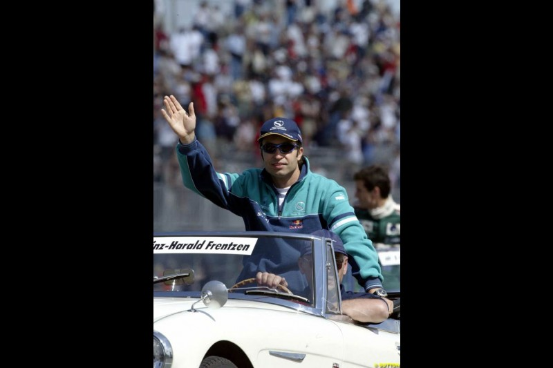 The Drivers Parade. Canadian Grand Prix, Montreal, Sunday, June 15th 2003.