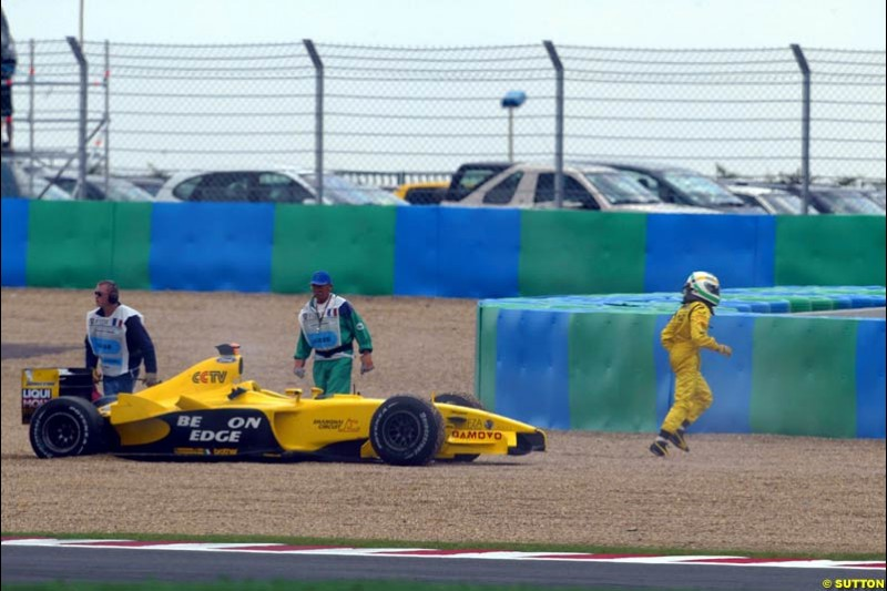 French Grand Prix at Magny Cours. Circuit de Nevers, France. Sunday, July 6th 2003.