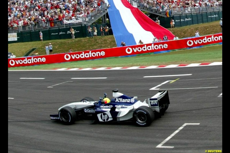Ralf Schumacher, Williams. French Grand Prix at Magny Cours. Circuit de Nevers, France. Sunday, July 6th 2003.