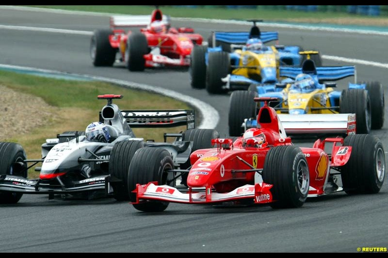 The French Grand Prix at Magny Cours. Circuit de Nevers, France. Sunday, July 6th 2003.