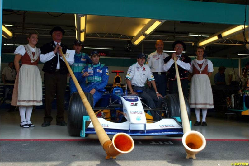 German Grand Prix at Hockenheim. Friday, August 1st 2003.