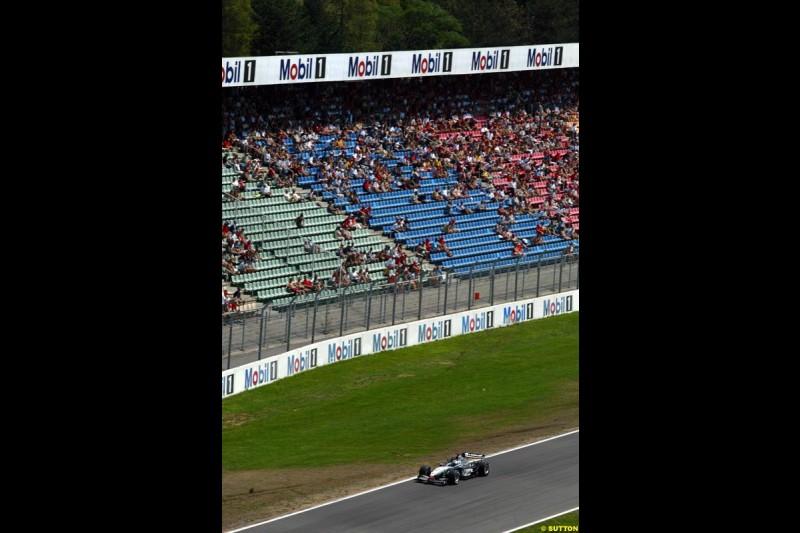 Fans. German Grand Prix, Hockenheim, Germany. Saturday, August 2nd 2003.