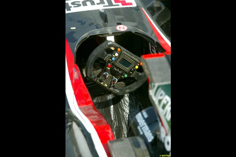 Minardi. German Grand Prix, Hockenheim, Germany. Saturday, August 2nd 2003.