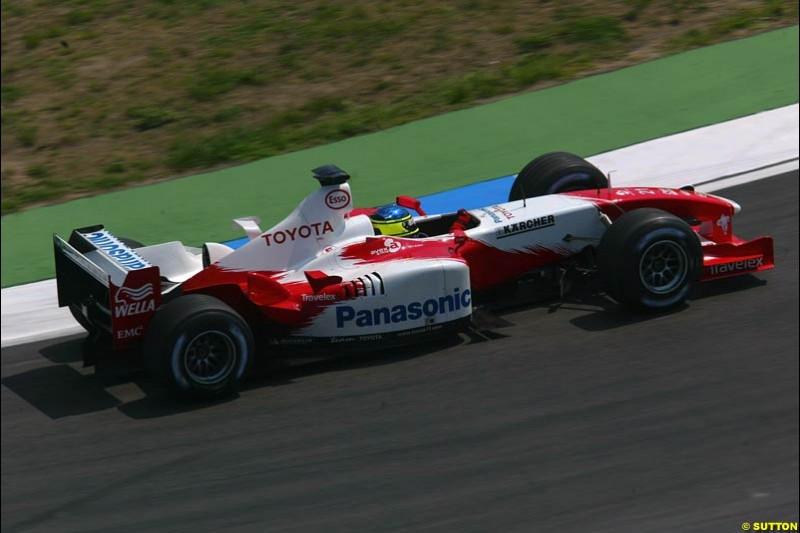Toyota. German Grand Prix, Hockenheim, Germany. Saturday, August 2nd 2003.
