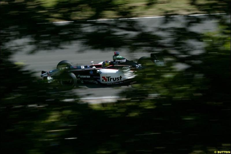 Hungarian Grand Prix Saturday. Hungaroring, Budapest. 23rd August, 2003.