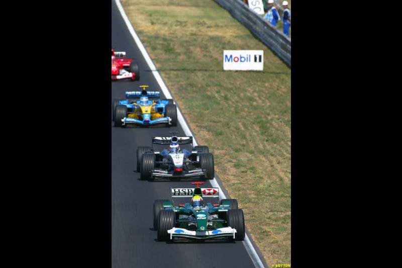 Hungarian Grand Prix Sunday. Hungaroring, Budapest. 24th August, 2003.